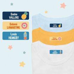 Nominettes Thermocollantes pour Vêtements - Textes Multiples