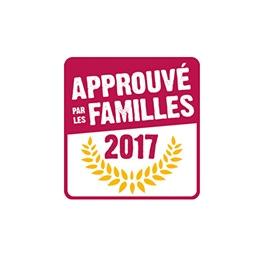 Logo Label Approuvé par les Familles
